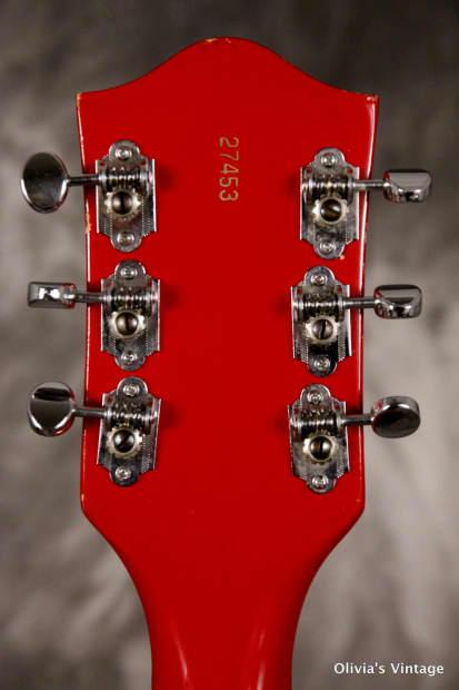 Gretsch the monkees rock 39 n roll model guitar 1967 red - Rock n roll mobel ...