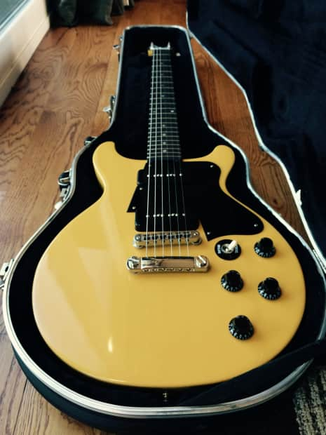 Gibson Les Paul Jr Special Double Cutaway Tv Yellow W