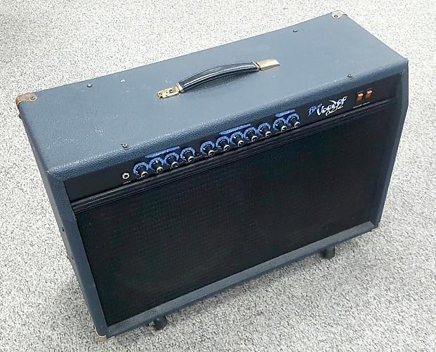 crate blue voodoo 6212 tube amplifier blue reverb. Black Bedroom Furniture Sets. Home Design Ideas