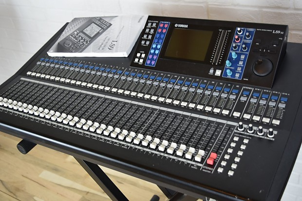 yamaha ls9 32 digital mixing console excellent cond used reverb. Black Bedroom Furniture Sets. Home Design Ideas