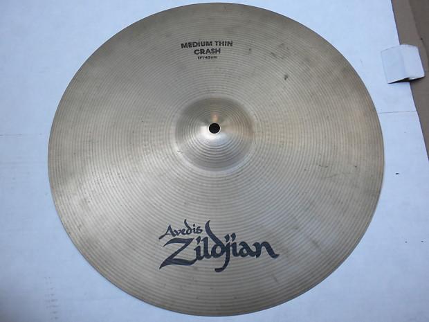 zildjian a 17 medium thin crash cymbal reverb. Black Bedroom Furniture Sets. Home Design Ideas