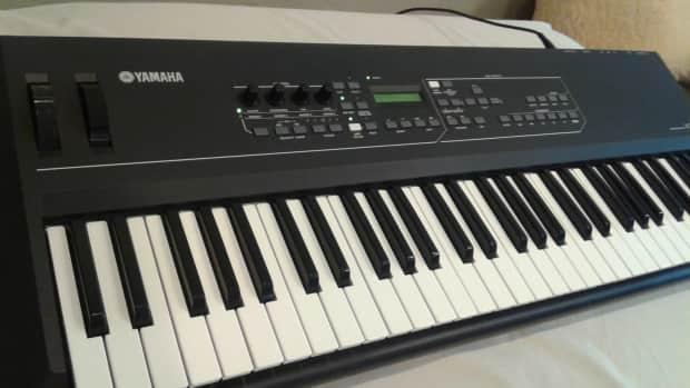 Yamaha kx61 controller keyboard w motifs arpeggios reverb for Yamaha digital piano controller