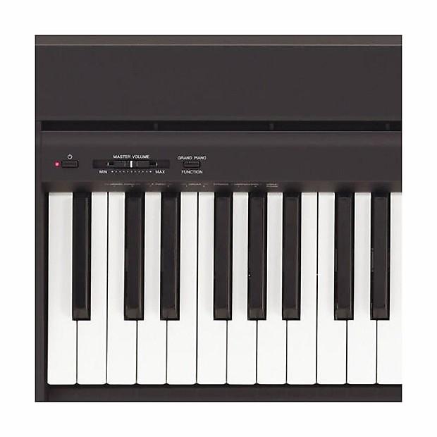 yamaha p 45b 88 key digital piano black reverb. Black Bedroom Furniture Sets. Home Design Ideas
