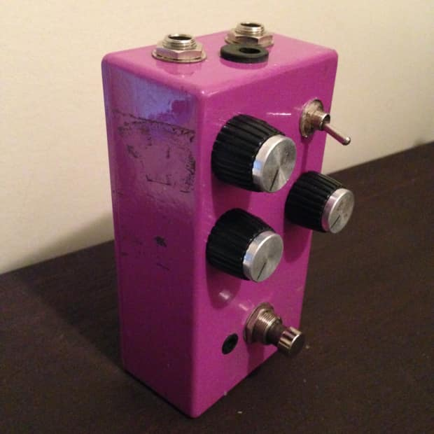 diy clone marshall in a box distortion guitar effects pedal reverb. Black Bedroom Furniture Sets. Home Design Ideas