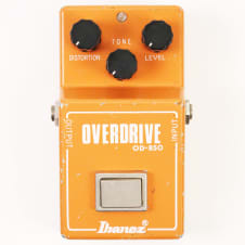 1980 Ibanez OD-850 Overdrive Pedal - Very Nice, All Original, Sounds Incredible image