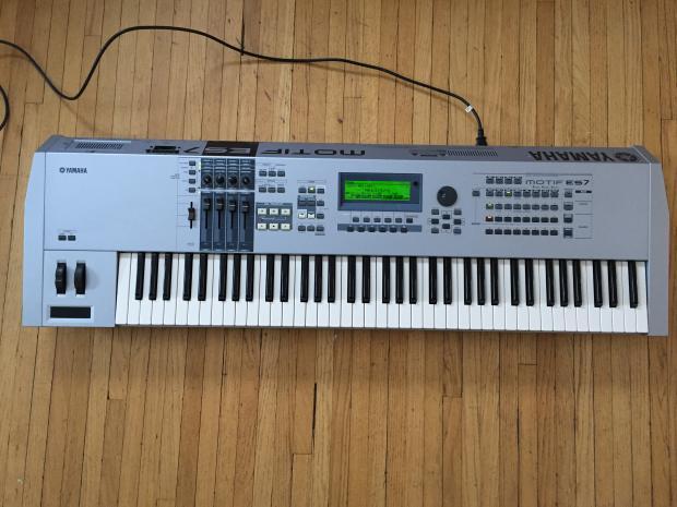 Yamaha motif es7 reverb for Yamaha mx61 specs