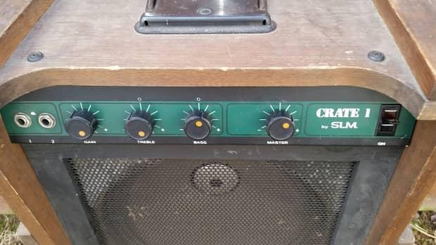 1978 crate model crate 1 guitar amp original series wooden reverb. Black Bedroom Furniture Sets. Home Design Ideas