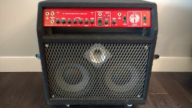 Swr redhead bass amp and