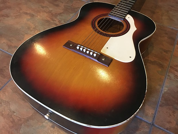 harmony stella acoustic guitar vintage made in usa nice reverb. Black Bedroom Furniture Sets. Home Design Ideas