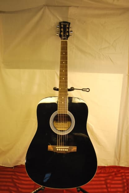 gibson maestro full size acoustic guitar black reverb. Black Bedroom Furniture Sets. Home Design Ideas