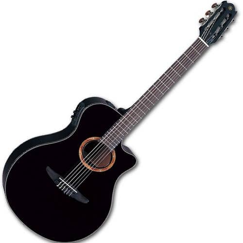 yamaha ntx700 nylon string acoustic electric guitar black reverb. Black Bedroom Furniture Sets. Home Design Ideas