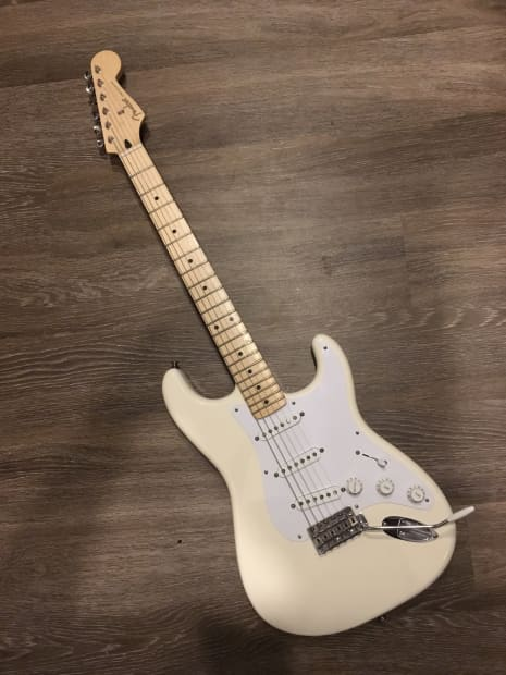 Fender Jimmie Vaughan Stratocaster 2015 Olympic White