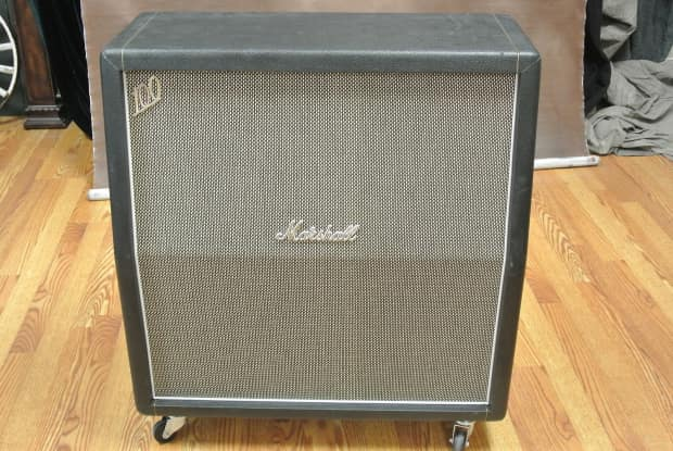marshall 1960ahw cab with heritage g12h greenbacks reverb. Black Bedroom Furniture Sets. Home Design Ideas
