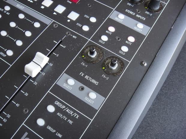 Soundcraft Lx7 24 Channel Mixer Manual