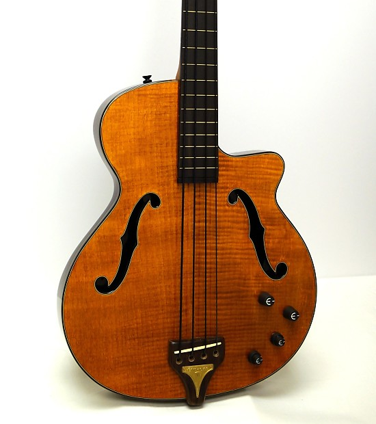 epiphone zenith fretless chambered body electric bass guitar reverb. Black Bedroom Furniture Sets. Home Design Ideas