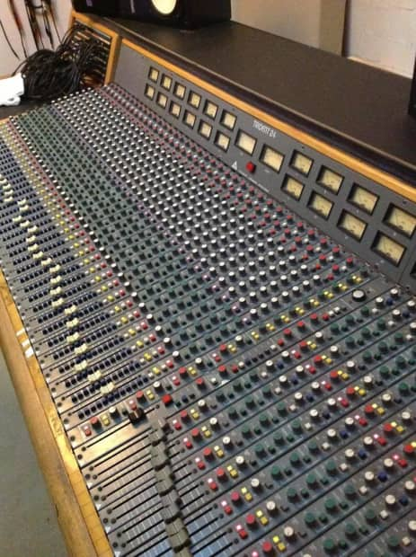 Trident Series 24 Analog Recording Mixing Console 36