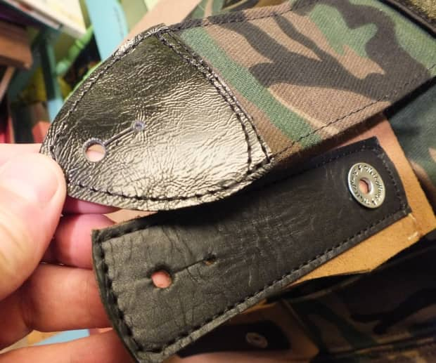 Well Hung Insurgency Padded Military Guitar Straps 2016