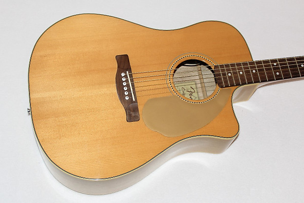 Fender Sonoran Sce 67 Limited Acoustic Electric Guitar