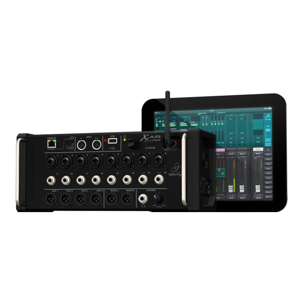 behringer x air xr16 digital live mixer control with ipad android pc mac reverb. Black Bedroom Furniture Sets. Home Design Ideas