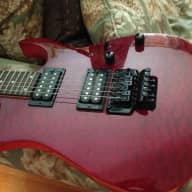 <p>Ibanez Rg 90&#039;s Cherry Quilt RG320QM Red Floyd Rose Tremolo - Make Offer</p>  for sale