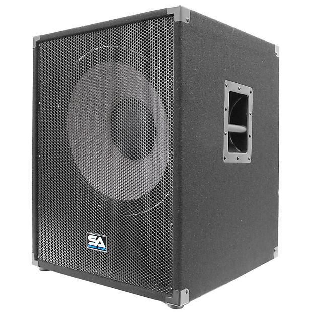 Pair Seismic Audio 18 Quot Subwoofer Pa Dj Loud Speaker Sub