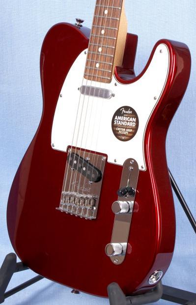 fender american standard telecaster mystic red w hard shell case reverb. Black Bedroom Furniture Sets. Home Design Ideas
