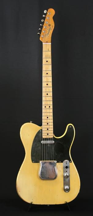 Fender Telecaster 1952 Blackguard Butterscotch All