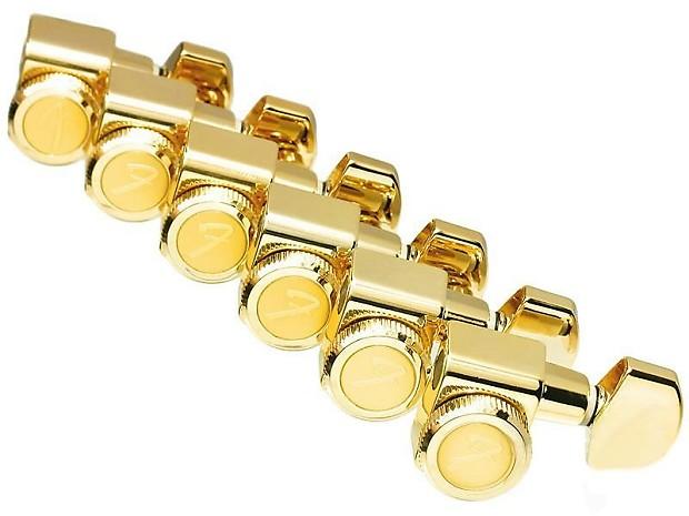 fender locking guitar tuners for stratocaster telecaster gold reverb. Black Bedroom Furniture Sets. Home Design Ideas