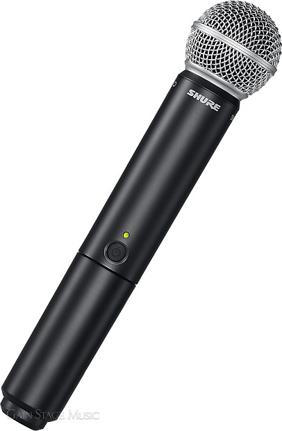 shure blx24 b58 microphone wireless system beta 58a handheld reverb. Black Bedroom Furniture Sets. Home Design Ideas