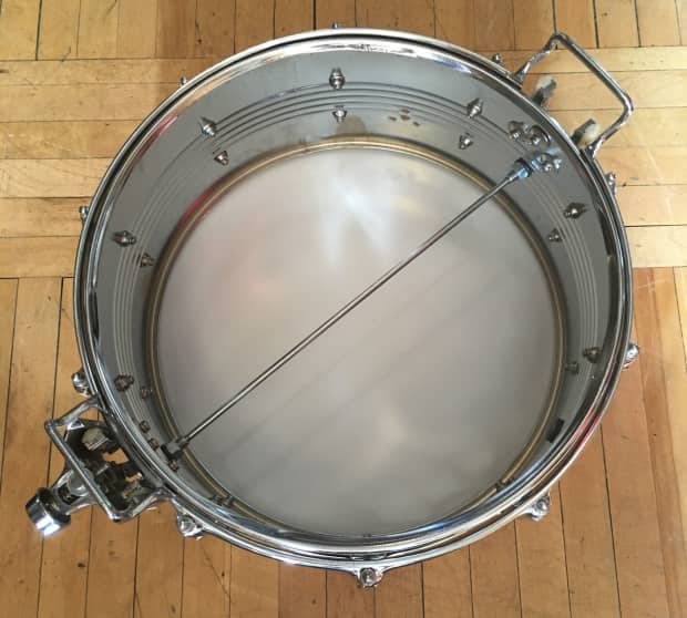 Rogers Auto Sales >> Rogers R-380 6.5x14 Steel Shell Snare Drum   Reverb