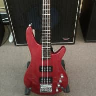 <p>Ibanez Soundgear SRX 300 Active Candy Apple Red</p>  for sale