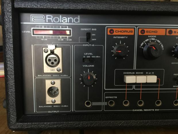 Roland Re 501 Chorus Space Echo Tape Delay Reverb