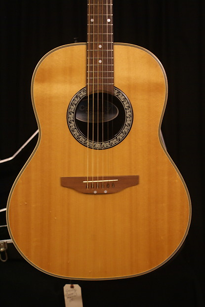 Ovation Celebrity CC67 (*ultra Rare) 1985 Sunburst | Reverb