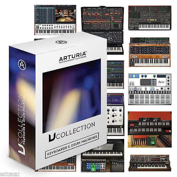 arturia v collection 4 vintage instruments software bundle software