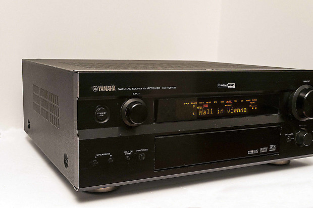 Yamaha rx v2400 7 1 channel av receiver nice sale for Yamaha rx 797 manual