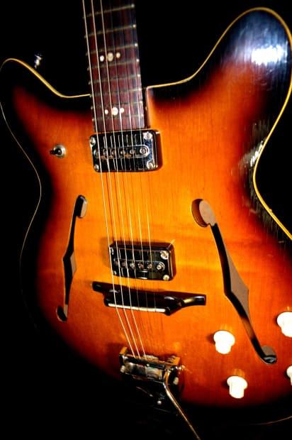 egmond 7 1965 electric guitar made in holland vintage reverb. Black Bedroom Furniture Sets. Home Design Ideas