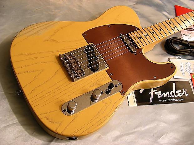 2013 Fender Fsr American Standard Rustic Ash Telecaster