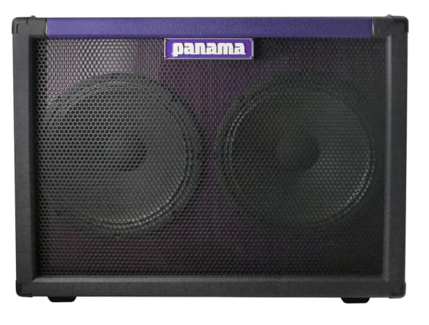 panama guitars road series 2x12 speaker cabinet with built in reverb. Black Bedroom Furniture Sets. Home Design Ideas