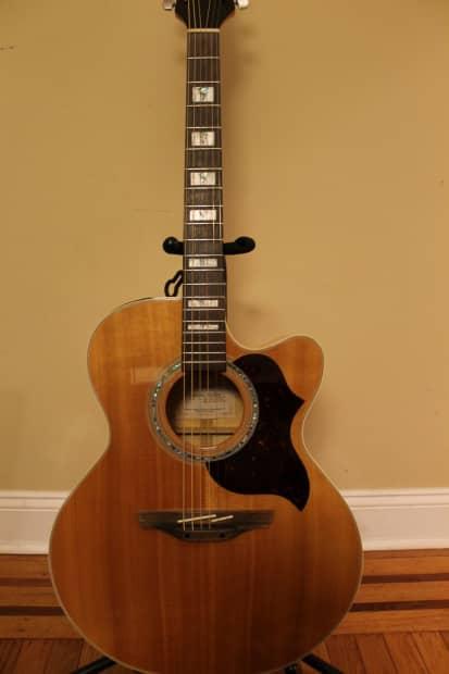 takamine eg 523sc jumbo acoustic electric guitar reverb. Black Bedroom Furniture Sets. Home Design Ideas
