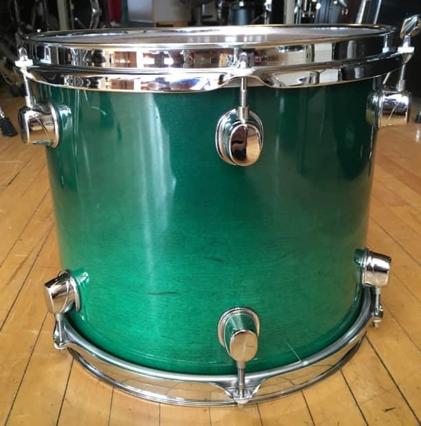 Shani Emerald: Mapex Saturn 10x12 Rack Tom Transparent Emerald Green
