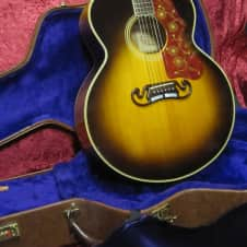 Gibson  J-200 1989 Sunburst with Original Hard Shell Case image
