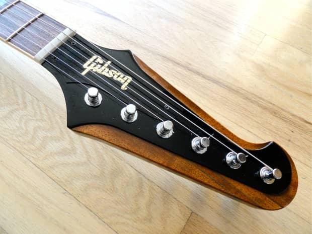 2001 gibson firebird v electric guitar sunburst banjo tuners reverb. Black Bedroom Furniture Sets. Home Design Ideas