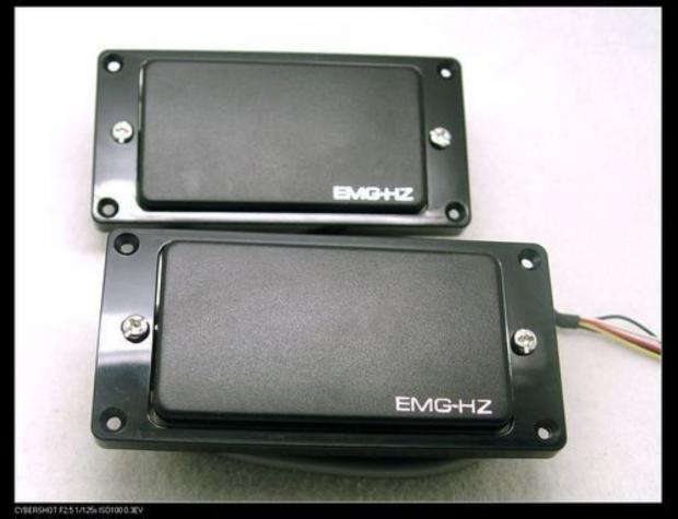 Emg Hz H4  U0026 H4a Passive Humbucker Pickup Set