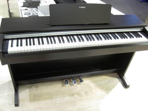 Digital piano arius ydp 163 black reverb for Yamaha arius 163