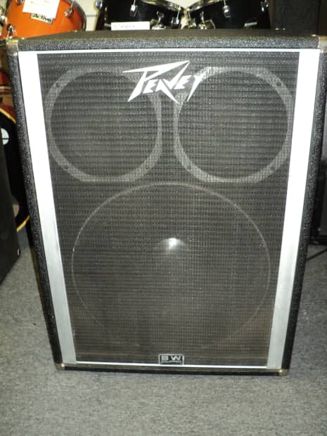 Peavey 1810 Bass Speaker Cabinet With One 18 Quot Black Widow