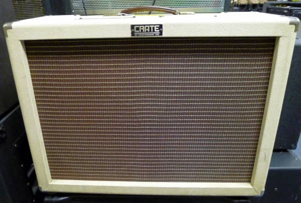 Crate Vintage Club 50 All Tube 50 Watt Amp Cream Reverb