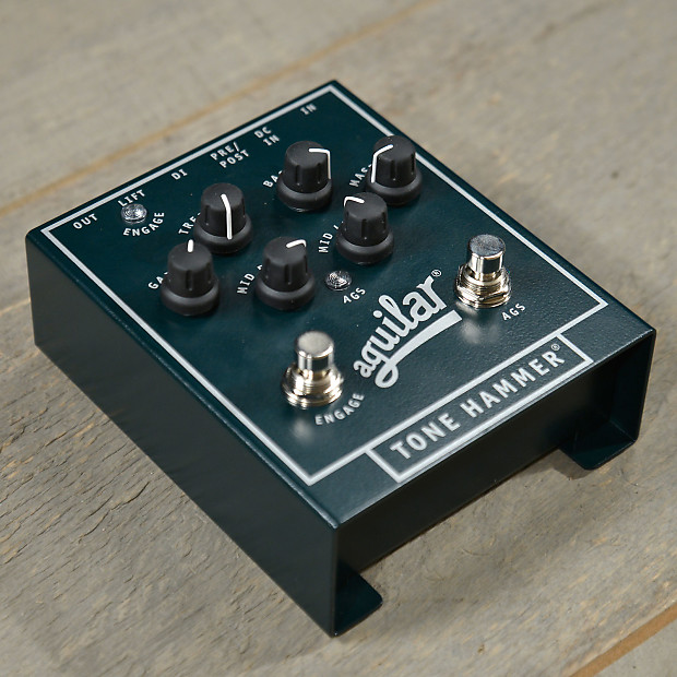 aguilar tone hammer 3 band preamp di mint reverb. Black Bedroom Furniture Sets. Home Design Ideas
