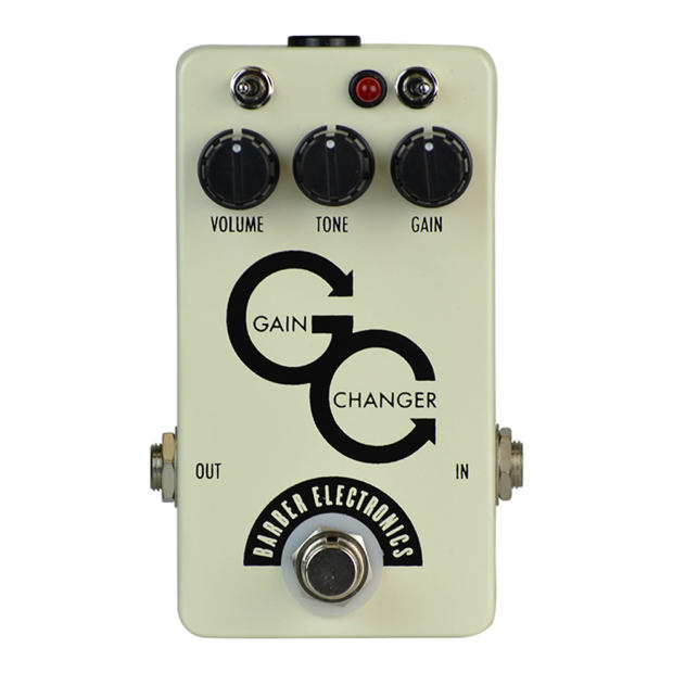 Barber Electronics : Barber Electronics Gain Changer Overdrive Reverb