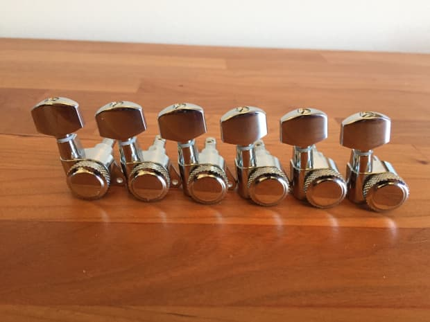 schaller locking tuning machine heads 6 in line
