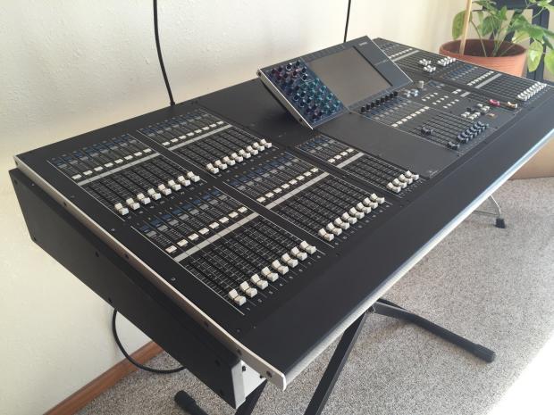 yamaha m7cl 48 digital mixer with meter bridge m 7 c l cl reverb. Black Bedroom Furniture Sets. Home Design Ideas